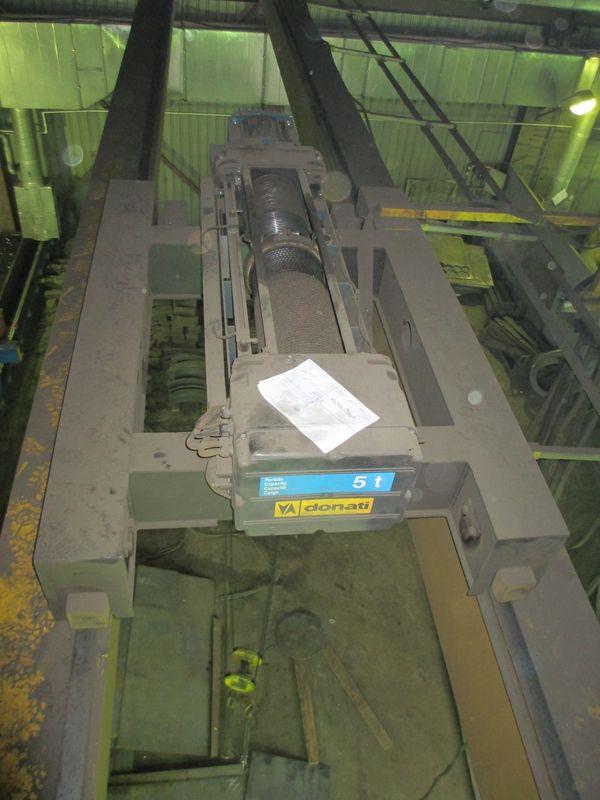 Деффектовка грузовой тележки мостового крана.