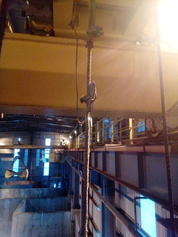 Диагнистика приборов безопасности мостового крана.