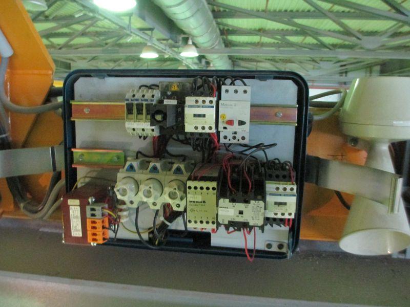 Диагностика электрооборудования мостового крана.