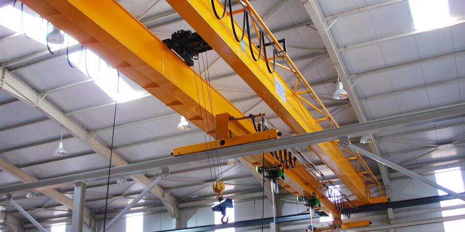 установка мостового крана