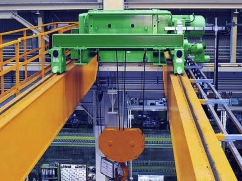 Смазка механизмов мостового крана