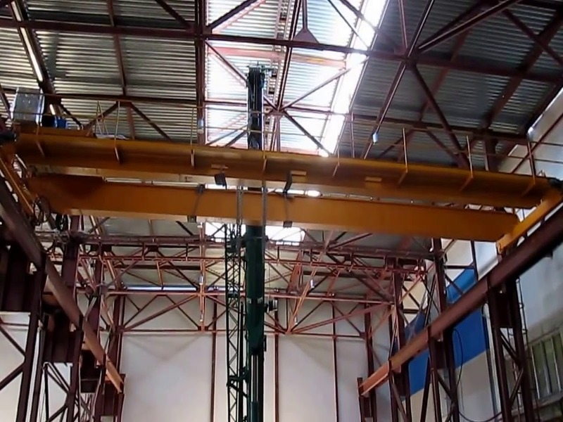 Особенности монтажа мостового крана в закрытом помещении